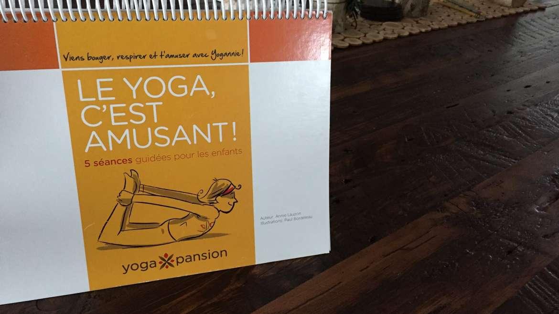 Soirée de lancement livre et nouveaux outils de yoga pour des jeunes
