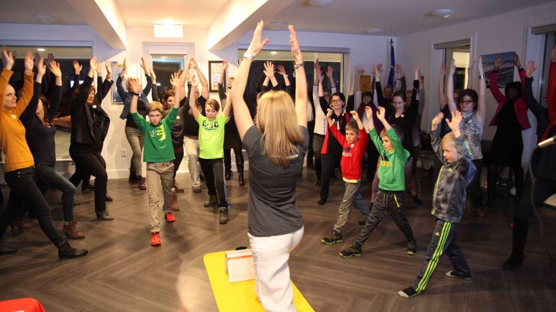 Communiqué de presse – Lancement du livre : Le yoga c'est amusant!