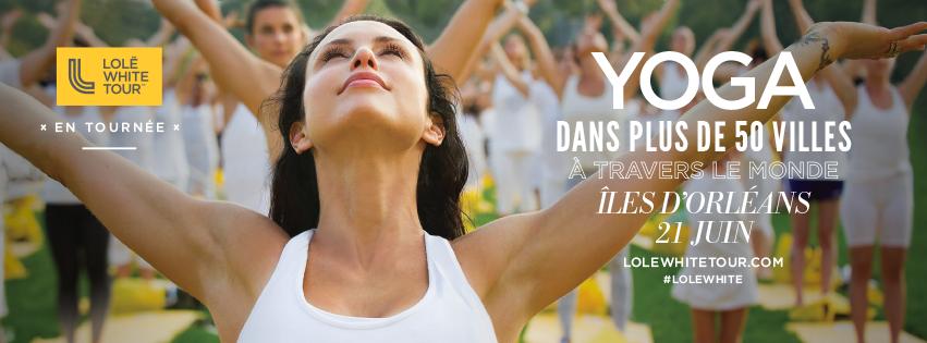 Évènement  le 21 juin 2016 pour la journée internationale du yoga